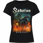 Heroes on European Tour 2014-2015 Sabaton T-shirt Women Frontside