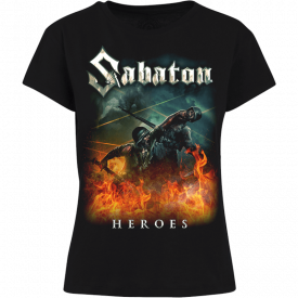 Heroes on European Tour 2014-2015 Sabaton T-shirt Women Frontside