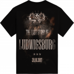 Ludwigsburg - Germany The Last Stand Tour 2017 Sabaton Exclusive T-shirt Backside