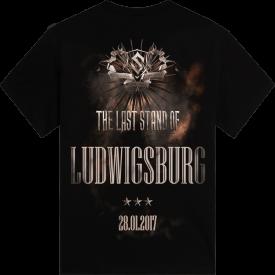 Ludwigsburg - Germany The Last Stand Tour 2017 Sabaton Exclusive T-shirt Backside