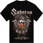 Ludwigsburg - Germany The Last Stand Tour 2017 Sabaton Exclusive T-shirt Frontside