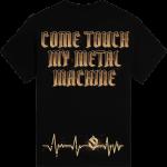 Metal Machine Sabaton T-shirt Backside