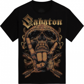 Metal Machine Sabaton T-shirt Frontside