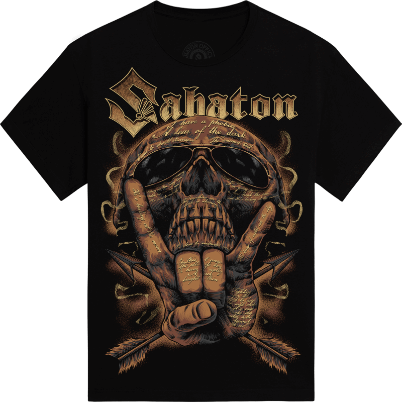 Metal Machine Sabaton T-shirt Frontside