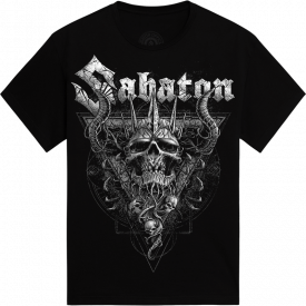 Nordic Worrior The Great EU Tour 2020 Sabaton T-shirt Frontside