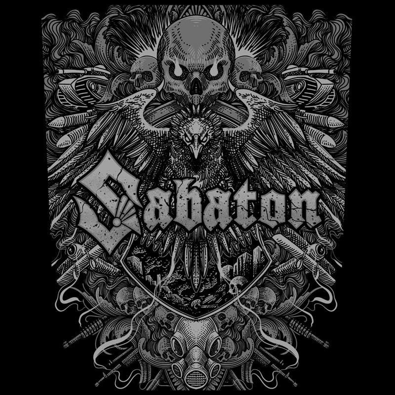 Sabaton Back Patch