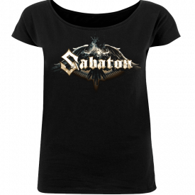 Sabaton Eagle Loose Fit T-shirt Women Frontside