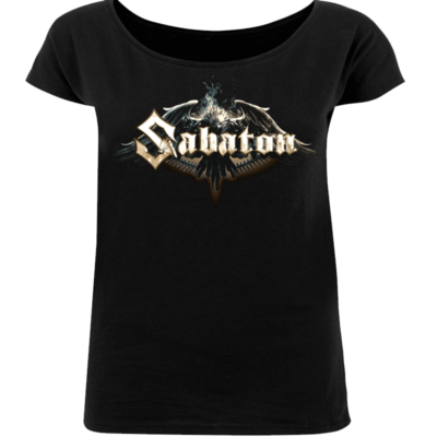 Sabaton Eagle Loose Fit T-shirt Women Frontside