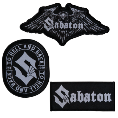 Sabaton patch set