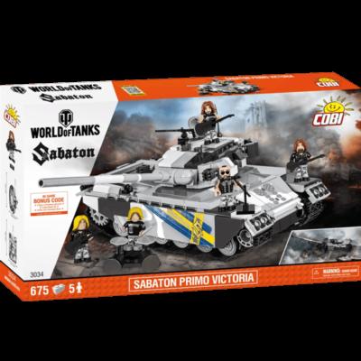 Sabaton Primo Victoria Tank Cobi Blocks Frontside