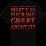 Sabaton Tank T-shirt Backside