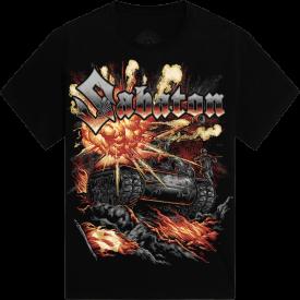 Sabaton Tank T-shirt Frontside