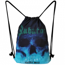 The Future of Warfare Sabaton Drawstring Bag