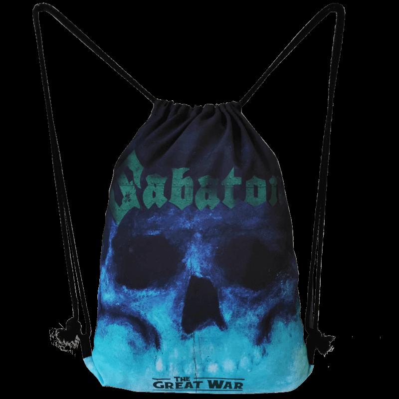The Future of Warfare Sabaton Drawstring Bag