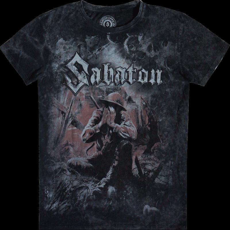 The Great EU Tour 2020 Sabaton Vintage T-shirt Frontside