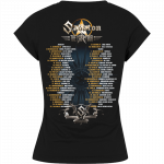 The Last European Tour 2017 Sabaton T-shirt Women Backside