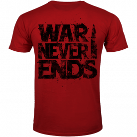 The War Never Ends Sabaton T-shirt Backside