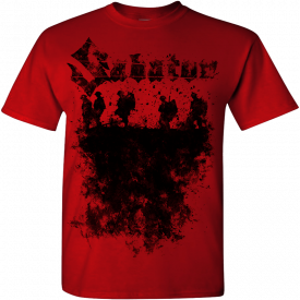 The War Never Ends Sabaton T-shirt Frontside