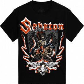 Winged Hussars Sabaton T-shirt Frontside
