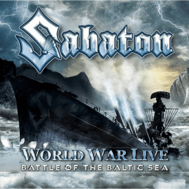 World War Live - Battle of the Baltic sea Sabaton CD