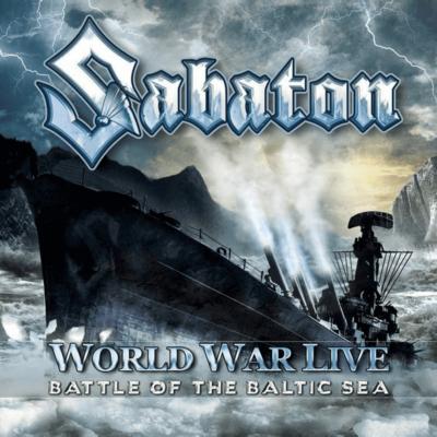World War Live - Battle of the Baltic sea Sabaton CD