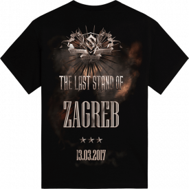 Zagreb - Croatia The Last Stand Tour 2017 Sabaton Exclusive T-shirt Backside
