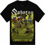 The Attack Of The Dead Men ft. RADIO TAPOK Limited T-shirt Frontside
