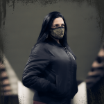Sabaton Face Mask Frontside Zayk
