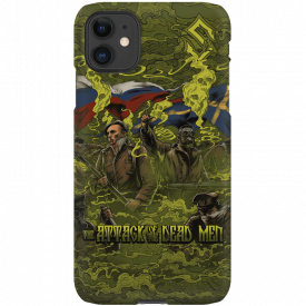 Razer customized Sabaton phone case Attack of the Dead Men