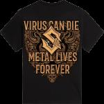 Metal Lives Forever Sabaton T-shirt Backside