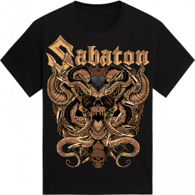 Metal Lives Forever Sabaton T-shirt Frontside