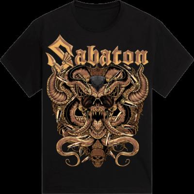 Metal Lives Forever Sabaton T-shirt Frontside