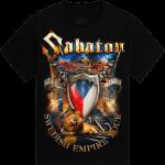 Jeste jedno pivo Swedish Empire Live Tpur 2013 in Czech Sabaton T-shirt Frontside