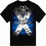 Glasgow Heroes on European Tour 2014 Sabaton T-shirt Backside