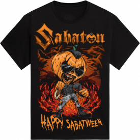 Sabatween Exclusive Sabaton T-shirt for Halloween Frontside