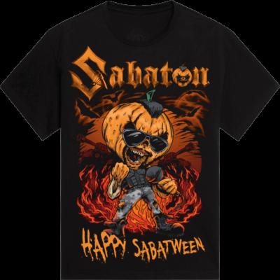 Sabatween Exclusive Sabaton T-shirt for Halloween Frontside