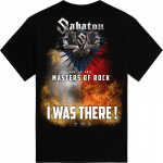 Masters of Rock The Last Tour 2017 Sabaton T-shirt Backside