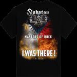 Masters of Rock The Last Tour 2017 Sabaton T-shirt Backside