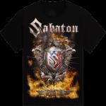 Masters of Rock The Last Tour 2017 Sabaton T-shirt Frontside