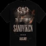 Sandviken The Last Stand Tour 2017 Sabaton T-shirt Backside