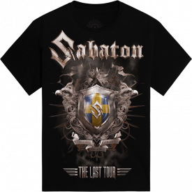 Sandviken The Last Stand Tour 2017 Sabaton T-shirt Frontside