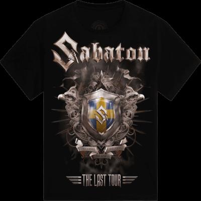 Sandviken The Last Stand Tour 2017 Sabaton T-shirt Frontside