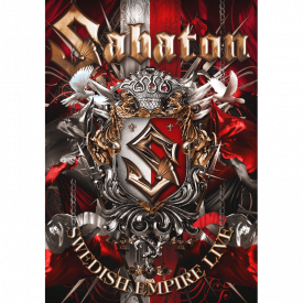 Sabaton Swedish Empire Live in Poland DVD Front Cover