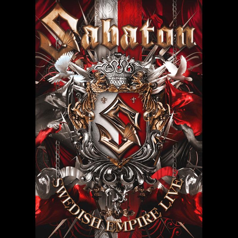 Sabaton Swedish Empire Live in Poland DVD Front Cover