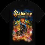 Swedish Empire Tour Europe 2012-2013 Sabaton T-shirt Frontside