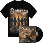 The Great War Vinyl LP + The Great Tour of North America 2019 Sabaton Official T-shirt Bundle