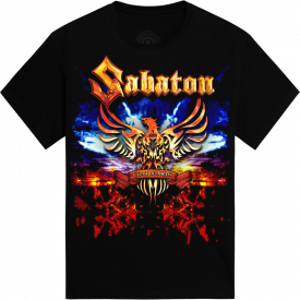 World War Tour 2010 Sabaton T-shirt Frontside