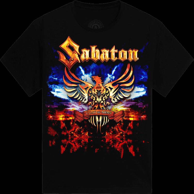 World War Tour 2010 Sabaton T-shirt Frontside