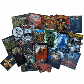 Sabaton Mystery Stickers Set
