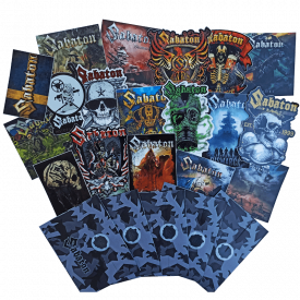 Sabaton Mystery Stickers Set Random
